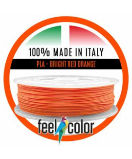 3D Filament PLA Bright Red Orange