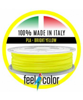 3D Filament PLA Bright Yellow Fluorescent