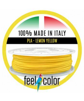 3D Filament PLA Lemon Yellow Flat