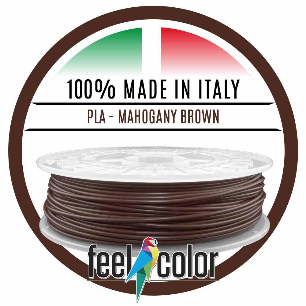 Filo Stampante 3D PLA Marrone Mogano image