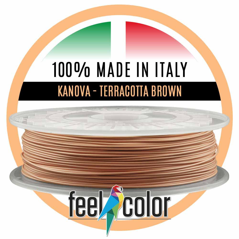 Filo Stampante 3D Kanova Marrone Terracotta image