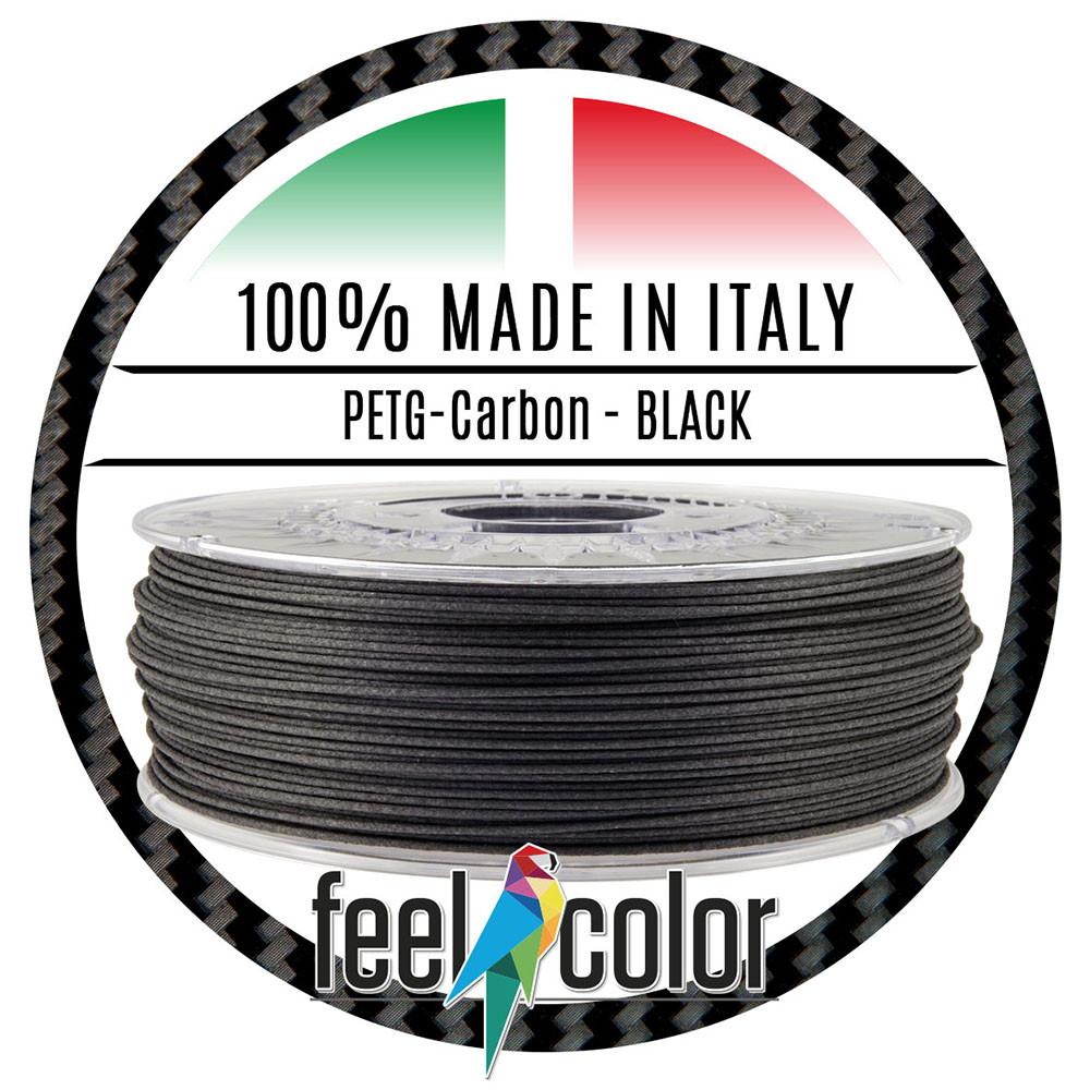 Filo stampante 3D PETG-Carbon Black