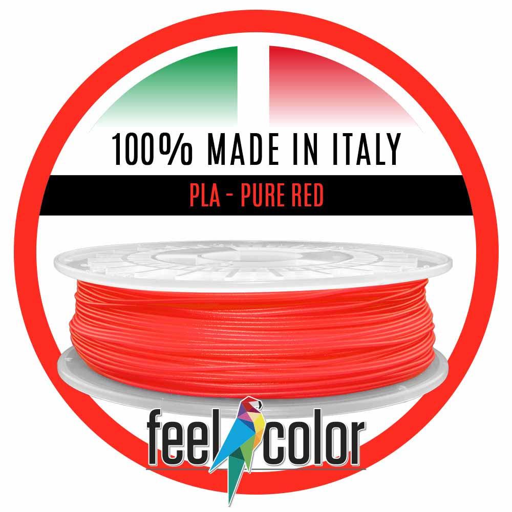 Filo Stampante 3D PLA Rosso Puro image