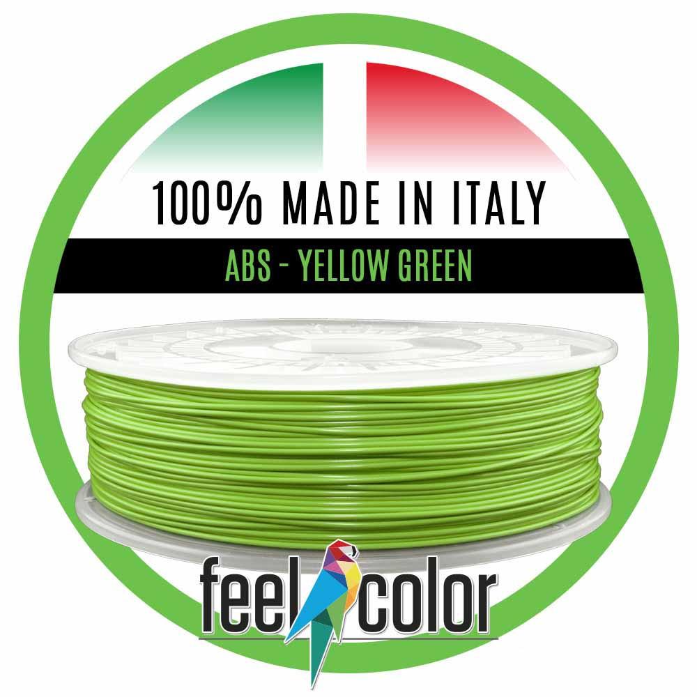 Filo Stampante 3D ABS Verde Giallo image