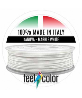 Filo Stampante 3D Kanova Bianco Marmo