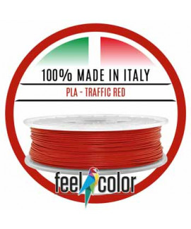 Filo Stampante 3D PLA Rosso Traffico