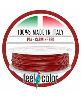 Filo Stampante 3D PLA Rosso carminio