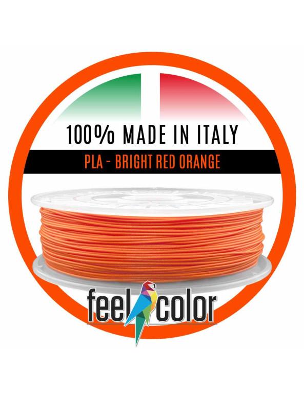 Filo Stampante 3D PLA Arancio Rosso Luminoso image