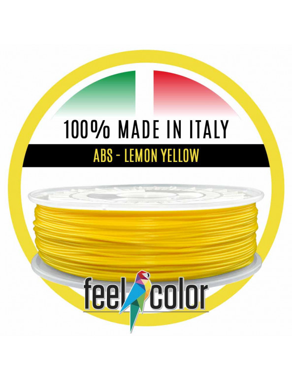 Filo Stampante 3D ABS Giallo Limone image