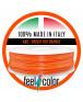 Filo Stampante 3D ABS Arancio Rosso Luminoso image