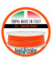 Filo Stampante 3D PLA Arancione Luminoso image